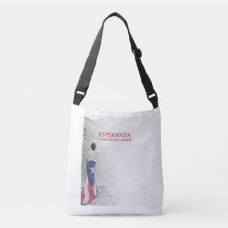 Esperanza - image with text crossbody bag
