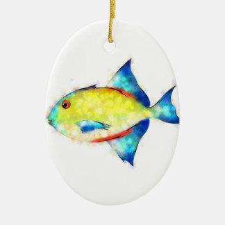 Esperimentoza - gorgeous fish ceramic ornament