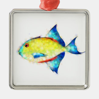 Esperimentoza - gorgeous fish metal ornament