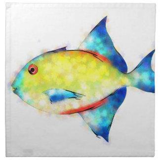 Esperimentoza - gorgeous fish napkin