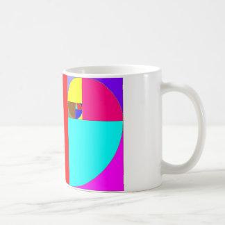 espiral fibonacci mugs