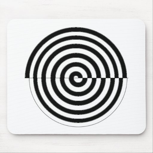 espiral_sinistrogira mouse pad