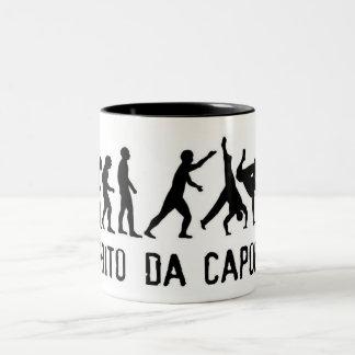 espirito da will capoeira Two-Tone coffee mug