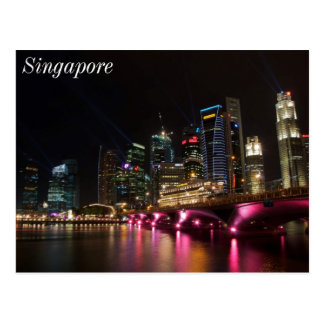 Esplanade Bridge Singapore Postcard
