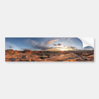 Esplanade Sunset - Grand Canyon - Thunder River Bumper Sticker
