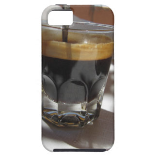 Espresso coffee with rum, sugar and lemon rind iPhone 5 case