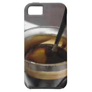 Espresso coffee with rum, sugar and lemon rind iPhone 5 cover