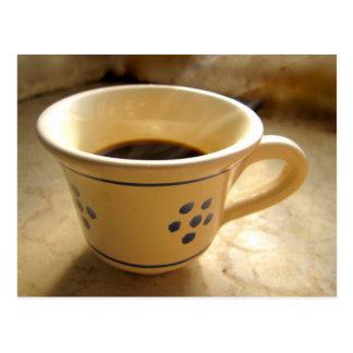 Espresso Cup Postcard