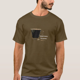 Espresso Heaven Sketch T-Shirts