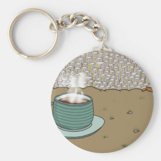 Espresso Hill Key Ring