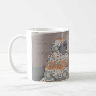 Espresso lady coffee mug