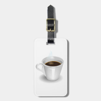 Espresso Luggage Tags