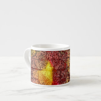 Espresso Mug - Abstract Colorful Art