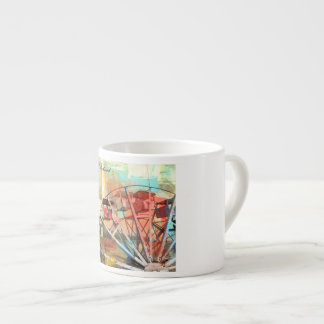 "Espresso Mug ""Life's A Whirlwind - Live it Well"""