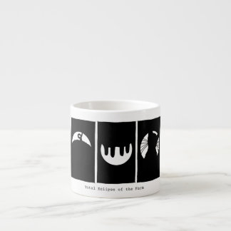 Espresso Mug:  Total Eclipse of the Farm. Espresso Cup