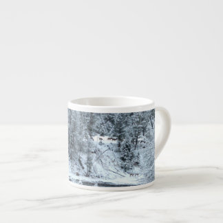 "Espresso Mug - ""Winter Day In Yellowstone"""