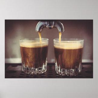 Espresso Shots Poster