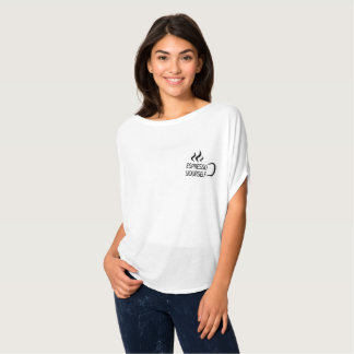 Espresso Yourself Flowy Shirt