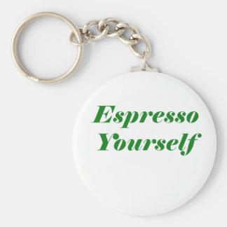 Espresso Yourself Key Ring