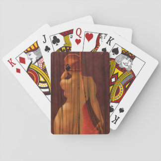 Esquire cartoon illustration Pin Up Art Poker Deck