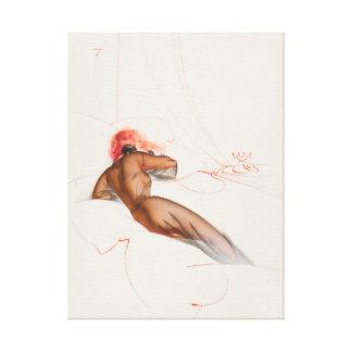 Esquire magazine Pin Up Art Canvas Print