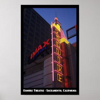 Esquire Theatre 11x17 Poster