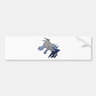Essence of Wolf Bumper Sticker