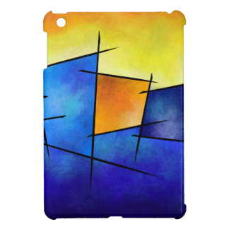 Esseniumos V1 - square abstract Cover For The iPad Mini