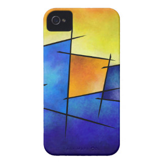 Esseniumos V1 - square abstract iPhone 4 Covers