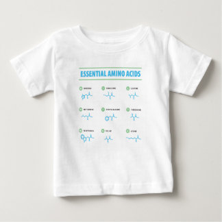 Essential Amino Acids Baby T-Shirt