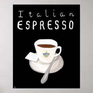 Essential Italy Poster - Italian Espresso