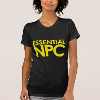 Essential NPC - modern Tee Shirt