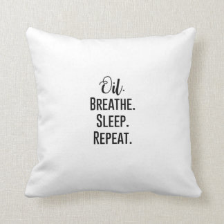 Essential Oil Throw Pillow