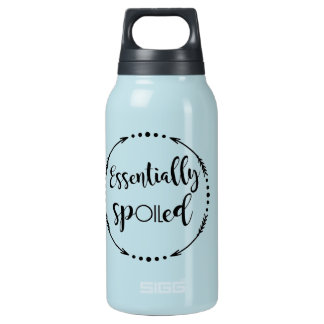 Essential oils cup insulated water bottle