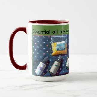 Essential oils mug
