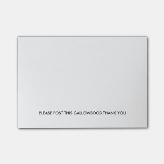 Essential Post-It Notes for Redditors