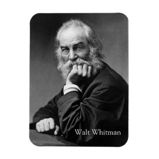 Essential Walt Whitman Portrait Magnet