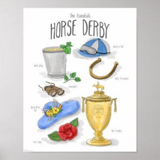 Essentials: Horse Derby Poster