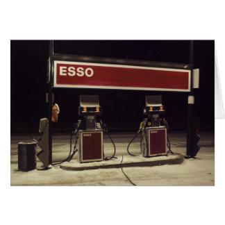 Esso Station Greeting Card