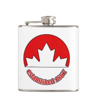 Est. 1867 Canada Day Flask