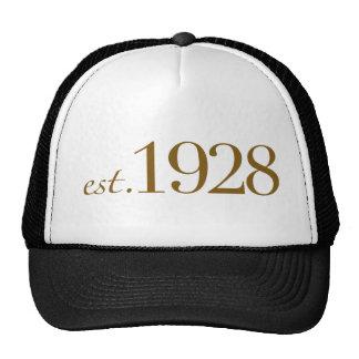 Est 1928 trucker hats
