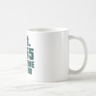 Est. 1955 awesome till end basic white mug