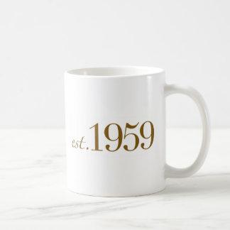 Est 1959 coffee mug