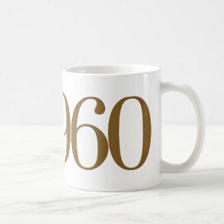 Est 1960 basic white mug
