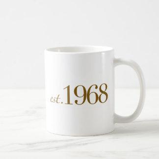 Est 1968 mug