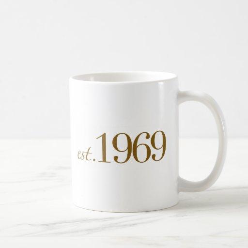 Est 1969 mug