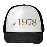 Est 1978 mesh hats