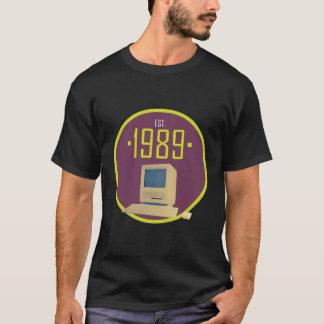 Established 1989 - Retro Computer T-Shirt