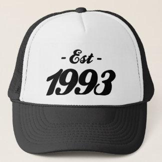 established 1993 - birthday trucker hat