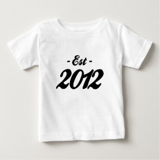 established 2012 - birthday baby T-Shirt